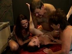 Privater Gruppensex im Fickclub